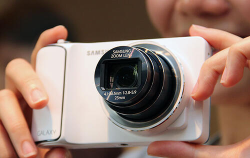 Hands-on: Samsung Galaxy Camera (Updated with Video)