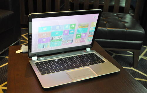 Hands-on: HP's new Envy Touchsmart Ultrabook 4, and HP Envy x2