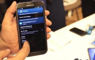 Samsung's S Cloud Service Spotted on the Galaxy Note II