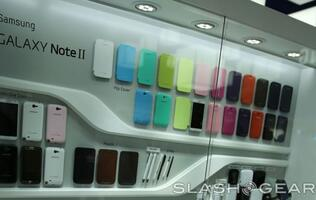 Samsung Galaxy Note II Accessories Unveiled