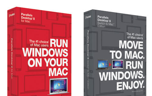 Parallels Launches New Parallels Desktop 8 for Mac and Switch to Mac Edition