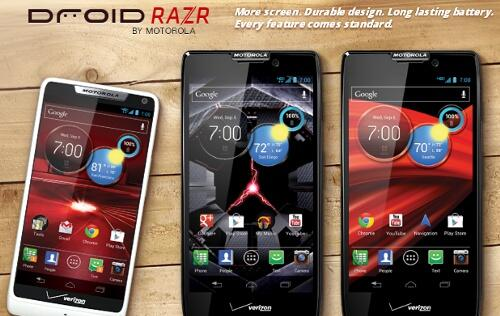 Motorola Mobility Extends Razr Family with Three New Smartphones