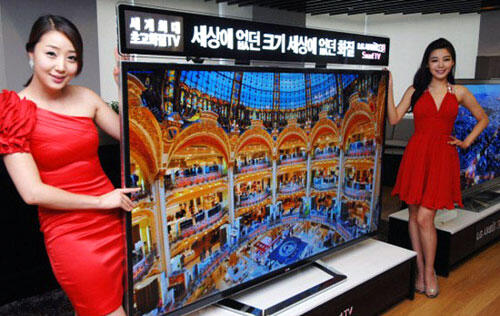 LG's 84-inch Ultra-High Definition TV Slated to Arrive in Singapore Next Month