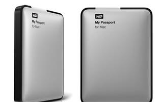 WD My Passport for Mac gets Upgraded