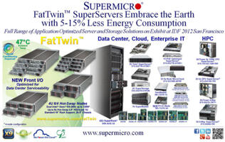 Supermicro FatTwin Server Consumes 5-15% Less Energy