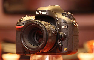 Nikon Announces D600 24MP Full-frame DSLR, We Go Hands-on