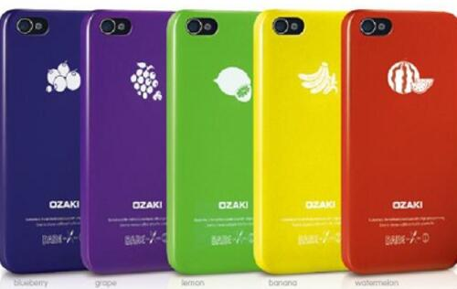 Ozaki Releases Its O!coat Fruit Range of Cases for the iPhone 5