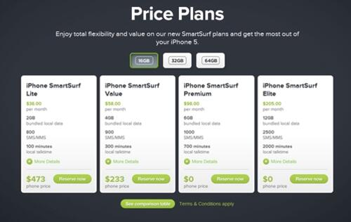 Apple iPhone 5 Price Plans Announced by StarHub