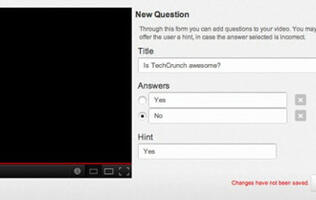 YouTube Experimenting with Quiz Feature