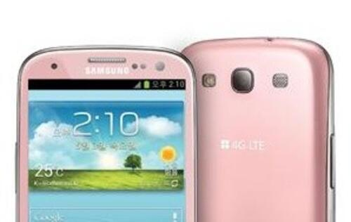 Samsung Galaxy S III Available in Korea in Martian Pink This Week
