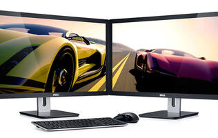 Dell Unveils Four New S Series 1080p Monitors with Glossy Displays