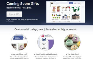 Facebook Gifts: Real Gifts for Facebook Friends