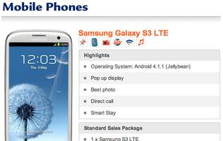 Telcos Reveal Price Plans for Samsung Galaxy S III LTE