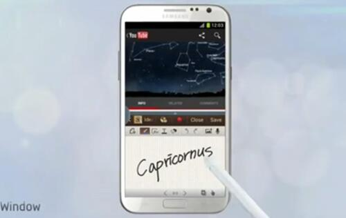 International Samsung Galaxy Note II Units Missing Multi-Window Feature
