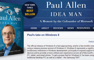 Windows 8 Needs Improvement, Says Microsoft's Co-founder