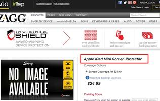 ZAGG Unveils Screen Protector for Apple iPad Mini