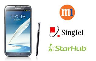 Samsung Galaxy Note II Price Plans Comparison