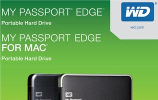 WD Adds My Passport Edge to Lineup of Portable Hard Drives