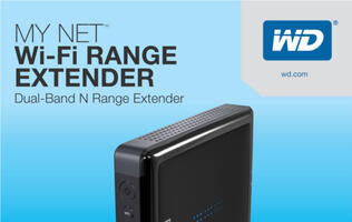 New WD My Net Wi-Fi Range Extender Boosts Home Wireless Coverage