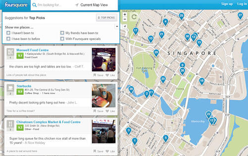 Foursquare Opens Up Search for Everyone