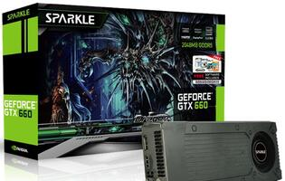 Sparkle GeForce GTX 660 Announced