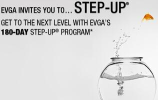 EVGA Step-Up Program's Promotion Period Doubled to 180 Days