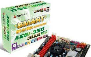 Biostar Introduces A68I-350 Deluxe All-in-One Mini ITX Motherboard