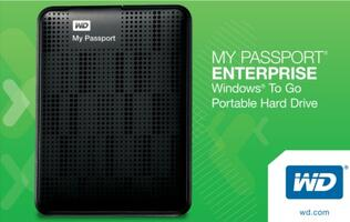 My Passport Enterprise Certified for Use With Windows To Go