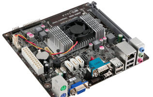 ECS Reveals its First Motherboard Based on the Intel NM70 Express Chipset, NM70-I