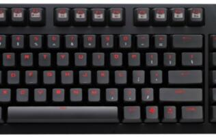 First Looks: CM Storm QuickFire TK Mechanical Keyboard