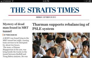 The Straits Times Launches Enhanced New Smartphone and iPad Apps