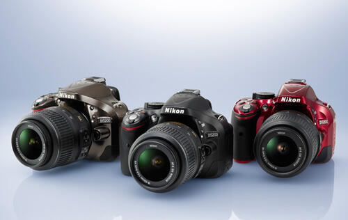 Nikon Announces D5200 DSLR with 24MP DX Sensor & 39-point AF System