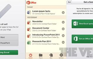 Leaked: Screenshots of Office 2013 for Android and iOS