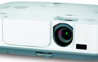 NEC Releases M Series of Portable Projectors