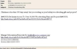 Symantec Warns of Sharp Spike in Christmas Related Spam Messages