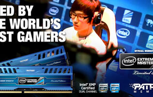 Patriot Memory and Intel Team Up for Intel Extreme Masters at SITEX 2012