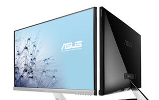 ASUS' New IPS Designo Monitors Go Frameless