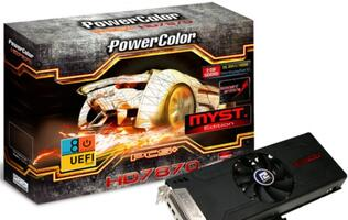 PowerColor PCS+ HD7870 Myst. Edition Announced