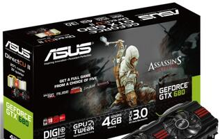 ASUS Releases Two-Slot GeForce GTX 680 DirectCU II with 4GB GDDR5 Video Memory