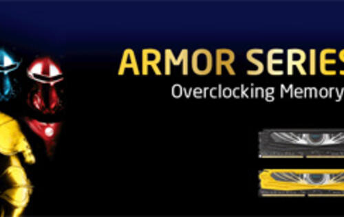 Apacer Introduces New ARMOR Series DDR3 Overclocking Memory Modules