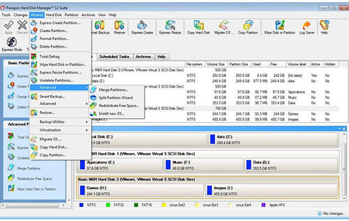 Paragon Hard Disk Manager 12 Now Supports Windows 8