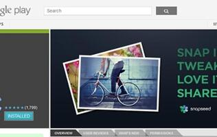Snapseed Launches on Android, Updates iOS Version