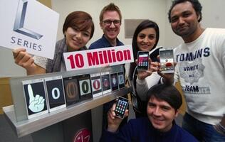Sales of LG L-Series Smartphones Exceed 10 Million Units Worldwide