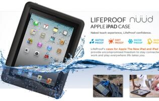 LifeProof nüüd Case for iPad Announced