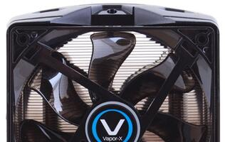 Sapphire Commences Shipping of its First CPU Cooler, Vapor-X