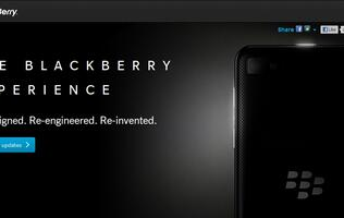 RIM Teases Upcoming BlackBerry 10 Device