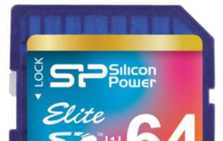 Silicon Power Presents SD 3.0 Elite UHS-1 Series Memory Cards