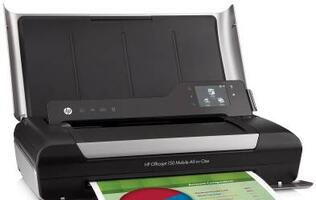 HP Announces Availability of its OfficeJet 150 Mobile All-in-One Printer