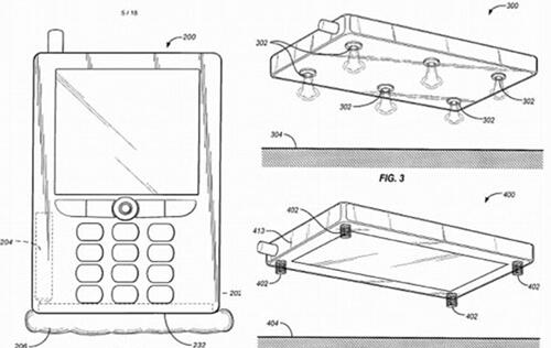 Amazon CEO Awarded Patent for Airbag System for Portable Devices