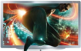 Philips 52PFL9606 Smart LED TV - Full-Metal Sexiness
